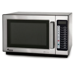 Amana Commercial Microwave Oven- Braille