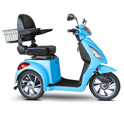 E-Wheels Jellybean Collection Electric Mobility Scooter - Bright Blue