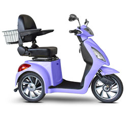 E-Wheels Jellybean Collection Electric Mobility Scooter - Purple