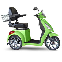 E-Wheels Jellybean Collection Electric Mobility Scooter - Neon Green