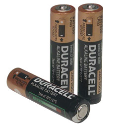 Duracell AAA Batteries- Package of 3