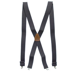 Hold-Up No Slip Black Suspenders for Adaptive Clothing Wearers