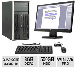 Desktop PC with Screen Reader Software-8GB Memory