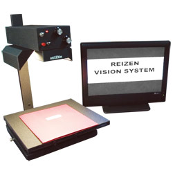 Reizen Vision Side-By-Side Electronic Magnifier- 19-in. B and W Flatscreen