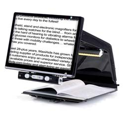 Tempus HD Electronic Magnifier - Black - 20in