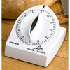 Lux 60-Minute Extended Ring Timer - White