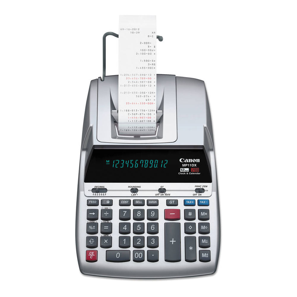 Canon Large Print DeskTop Calculator