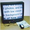 Reizen Electronic Reading Aid Video Magnifier Mouse for TV and PC