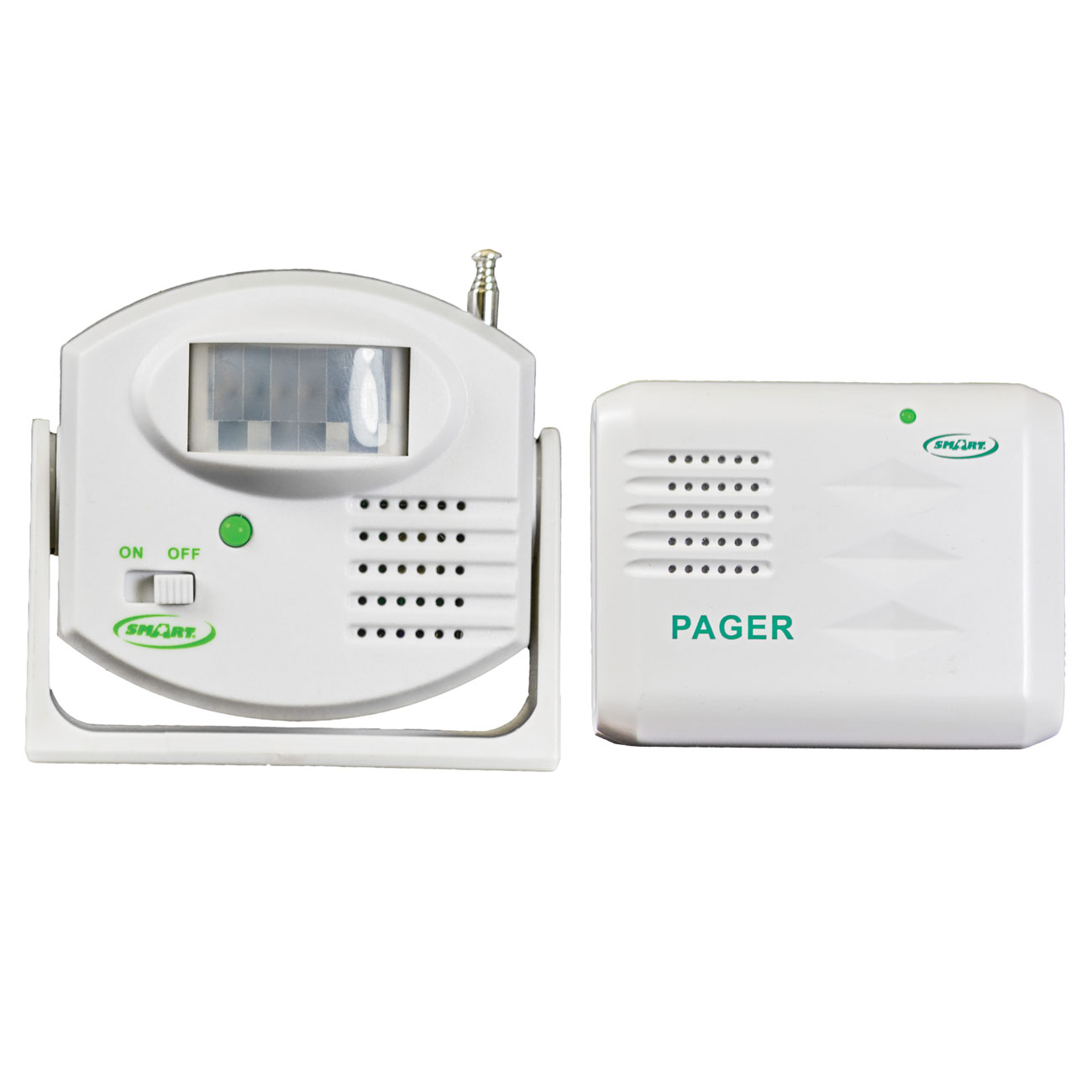 Motion Sensor and Pager - One to One System