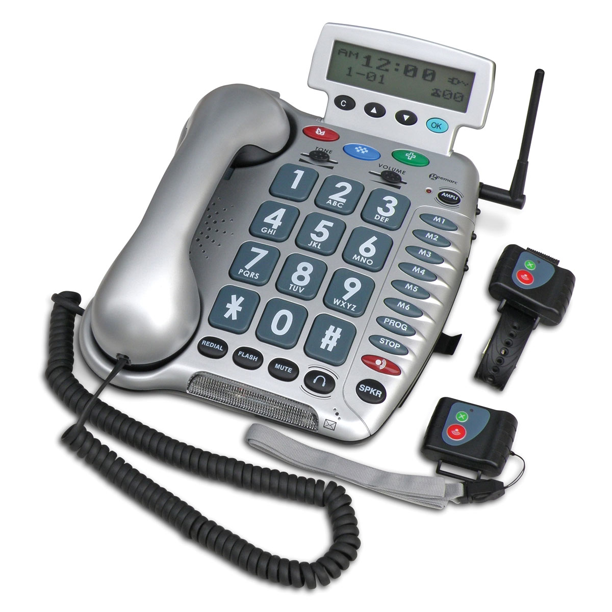 Geemarc Amplified Emergency Connect Telephone - 50dB